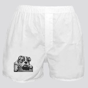 Bulldog Head Vintage-1 Boxer Shorts