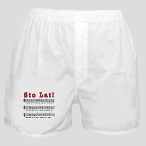 Sto Lat! Song Boxer Shorts