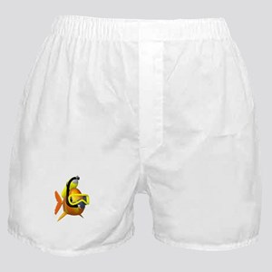 Scuba diving fish Boxer Shorts