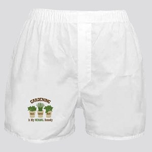 GARDENING IS MY HERBAL Remedy Boxer Shorts