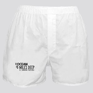 The Ocean is 6 Miles Deep Boxer Shorts