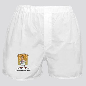 Worlds Best Doctor Boxer Shorts