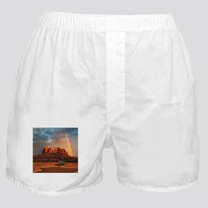 Rainbow In Grand Canyon Boxer Shorts