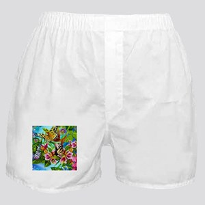 Beautiful Butterflies And Flowers Boxer Shorts