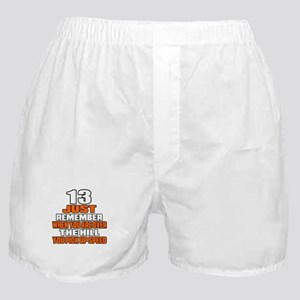 13 Just Remember Birthday Designs Boxer Shorts