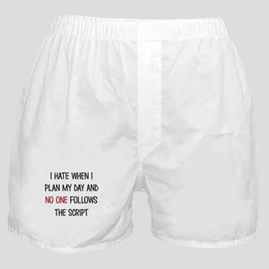I PLAN MY DAY Boxer Shorts