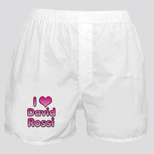 I Heart David Rossi Boxer Shorts