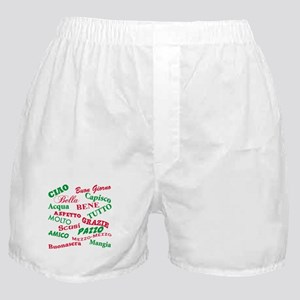 Italian sayings T-Shirt Boxer Shorts