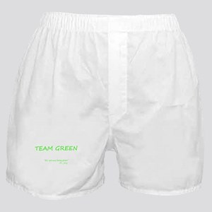 Team Green Boxer Shorts