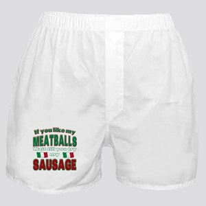 Italian Food Boxer Shorts