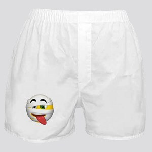 Goofy Mummy Licking Face Boxer Shorts