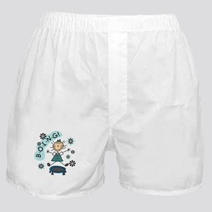 Girl on Trampoline Boxer Shorts