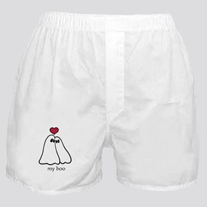 Ghost Love Halloween Boxer Shorts