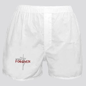 Not Perfect... Forgiven Boxer Shorts