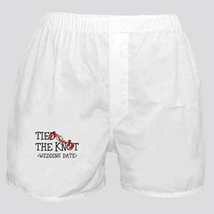 Tied The Knot (Add Wedding Date) Boxer Shorts