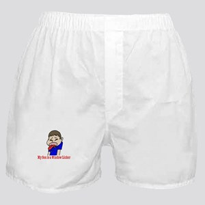 My Son is a Wndow Licker Boxer Shorts