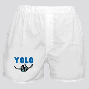 Yolo Sky Diving Boxer Shorts