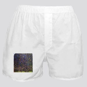 Gustav Klimt Pear Tree Boxer Shorts