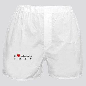 My Heart Belongs To Cher Boxer Shorts