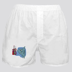 Here Fishy Fishy! Boxer Shorts