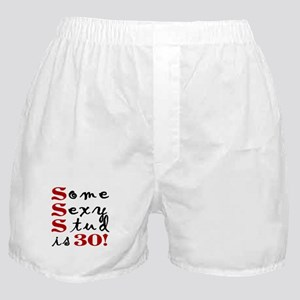 Some Sexy Stud Is 30 Boxer Shorts