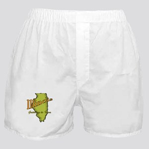 Illinois - Gateway To Iowa Boxer Shorts