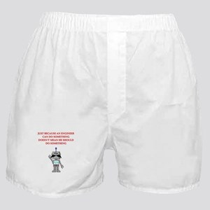engineering joke Boxer Shorts