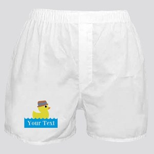 Personalizable Rubber Duck Boxer Shorts