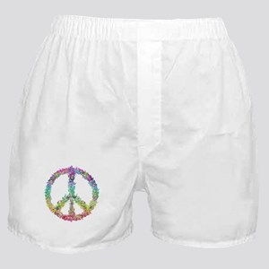 Peace of Flowers Boxer Shorts