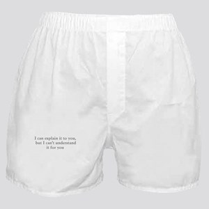 Understand Gray Boxer Shorts
