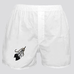 Native American Feathers Boxer Shorts