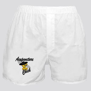 Acupuncture Chick #4 Boxer Shorts