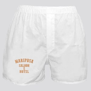 Mariposa Saloon and Hotel Vintage Wes Boxer Shorts