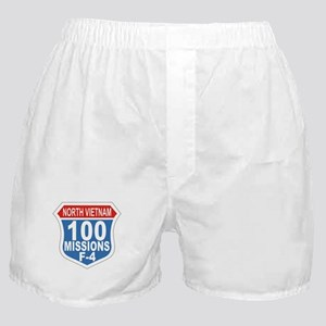 100 Missions F-4 Boxer Shorts