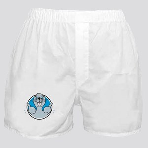 Seal of approval happy art Boxer Shorts