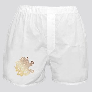 Chinese Dragon Deep Gold - DS Boxer Shorts