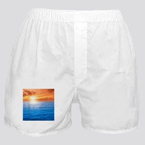 Ocean Sunset Boxer Shorts