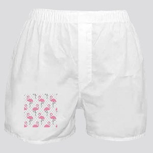 Cute Flamingo Boxer Shorts