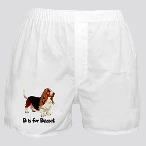 B is for Basset Boxer Shorts