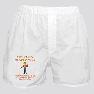 Happy Headed Nose Boxer Shorts