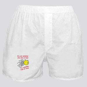 WIN OR LOSE TENNIS Boxer Shorts