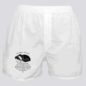 Pit Bull Prayer Boxer Shorts