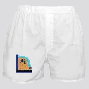 Two Turtles Boxer Shorts