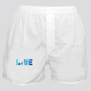 Scuba Diving: Divers Shadow Deep Swim Boxer Shorts