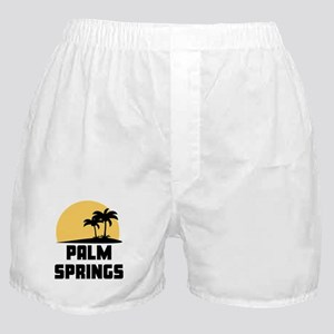 Palm Trees Palm Springs T-Shirt Boxer Shorts