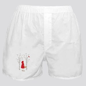 Red Riding Hood Boxer Shorts