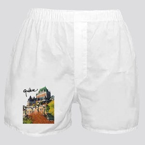 Frontenac Castle with Signatu Boxer Shorts