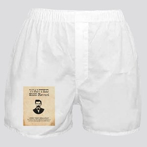 Doc Holliday Wanted Boxer Shorts