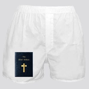 The Holy Bible Boxer Shorts