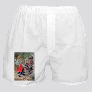 Roosevelt Bears Catch a Wolf Boxer Shorts